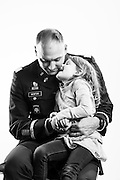 "U.S. Army First Lieutenant Martin K. Newton began his career as an enlisted combat photographer in 1994, after which time he deployed to Afghanistan and Iraq. After two deployments, he married in 2009 and his daughter, Bella, was born later that year. In light of making the military a lifelong career, Newton finished his degree in 2010, was commission as an officer and deployed once again to Afghanistan. ""Serving my country means I'm part of a very small number of people who've chosen to serve their country no matter what the circumstance,"" explains Newton. <br />