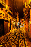 Calle Rosario, Granada, Granada Province, Andalusia, Spain.