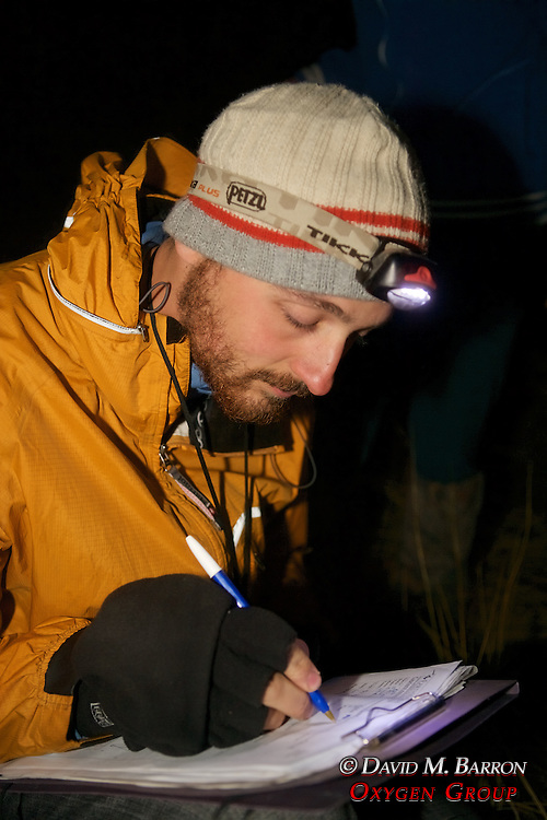 Greg Preparing To Work On Captured Animal