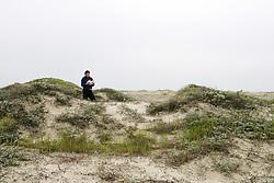 Sandi Matsumoto On Survey Of Orond Beach Dune