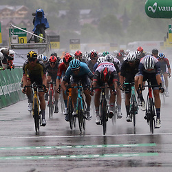 GSTAAD (SUI) CYCLING<br /> Tour de Suisse stage 4<br /> Stefan Bissegger has won the fourth stage of the Tour of Switzerland. The Swiss rider from EF Education-Nippo was part of a breakaway