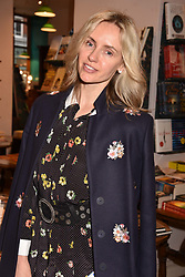 Nadya Abela at a party to celebrate the publication of Saving The World by Paola Diana at Daunt Books, Marylebone, London England. 2 May 2018.