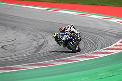 August 12, 2018 - Spielberg, Austria - 46 Italian driver Valentino Rossi of Team Movestar Yamaha MotoGP race during of Austrian MotoGP grand prix in Red Bull Ring in Spielberg, Austria, on August 12, 2018. (Credit Image: © Andrea Diodato/NurPhoto via ZUMA Press)