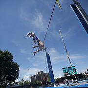 Janice Keppler, USA, in action in the Women's Pole Vault Competition during the Diamond League Adidas Grand Prix at Icahn Stadium, Randall's Island, Manhattan, New York, USA. 13th June 2015. Photo Tim Clayton