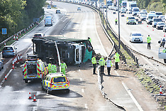 M4 Lorry 17  Hours Closure