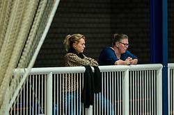 Support, public during the quarter cupfinal between Taurus vs. Sliedrecht Sport on April 02, 2021 in sports hall De Kruisboog, Houten