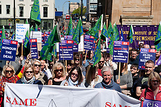 EIS/FELA Protest Strike Rally, | Glasgow | 3 May 2017
