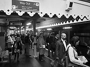 8.17 a.m. Commuters Battle station. East Sussex. 24 October 2017