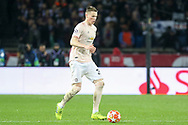 Manchester United Midfielder Scott McTominay during the Champions League Round of 16 2nd leg match between Paris Saint-Germain and Manchester United at Parc des Princes, Paris, France on 6 March 2019.