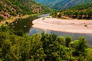 The beginig of Ivailovgrad Dam lake