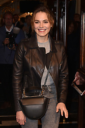May 29, 2019 - London, United Kingdom - Kara Tointon seen during The Starry Messenger' press night at Wyndham's Theatre in London. (Credit Image: © James Warren/SOPA Images via ZUMA Wire)