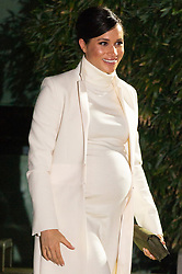 February 12, 2019 - London, United Kingdom - MEGHAN, DUCHESS OF SUSSEX arrives at the Natural History Museum gala performance of 'The Wider Earth' in support of The Queen's Commonwealth Trust and The Queen's Commonwealth Canopy.  (Credit Image: © Ray Tang/ZUMA Wire)