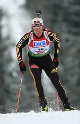 Michael Roesch (GER) at Men 20 km Individual at E.ON Ruhrgas IBU World Cup Biathlon in Hochfilzen (replacement Pokljuka), on December 18, 2008, in Hochfilzen, Austria. (Photo by Vid Ponikvar / Sportida)