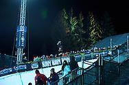 Louie Vito during Snowboard Superpipe Eliminations at 2014 X Games Aspen at Buttermilk Mountain in Aspen, CO. ©Brett Wilhelm/ESPN
