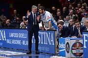 DESCRIZIONE : Milano BEKO Final Eigth  2016<br /> Vanoli Cremona - Dinamo Banco di Sardegna Sassari<br /> GIOCATORE : Marco Calvani Matteo Formenti<br /> CATEGORIA :  Allenatore Coach Mani Fair Play<br /> SQUADRA : Dinamo Banco di Sardegna Sassari<br /> EVENTO : BEKO Final Eight 2016<br /> GARA : Vanoli Cremona - Dinamo Banco di Sardegna Sassari<br /> DATA : 19/02/2016<br /> SPORT : Pallacanestro<br /> AUTORE : Agenzia Ciamillo-Castoria/M.Longo<br /> Galleria : Lega Basket A 2016<br /> Fotonotizia : Milano Final Eight  2015-16 Vanoli Cremona - Dinamo Banco di Sardegna Sassari<br /> Predefinita :