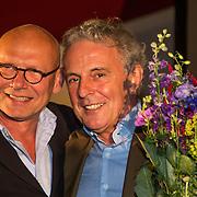 NLD/Amsterdam/20140616 - Uitreiking Johan Kaart prijs 2014, Sjoerd Pleijsier en Huub Stapel