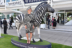 Francesca Cumani at the 2d day of The Investec Derby Festival - Derby Day, Epsom Racecourse, Epsom, Surrey, UK. 01 June 2019.