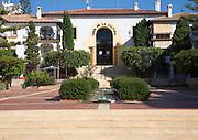 Casa de la Cultura building, La Cala del Moral, Malaga, Spain