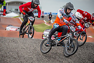 #243 (KIMMANN Justin) NED [TeamNL] at Round 8 of the 2019 UCI BMX Supercross World Cup in Rock Hill, USA