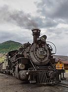 Durango-Silverton Narrow Gauge Railroad station, Silverton, Colorado