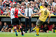Excelsior trainer coach Adrie Poldervaart (m) during the Dutch football Eredivisie match between Feyenoord and Excelsior at De Kuip Stadium in Rotterdam, on August 19th, 2018 - Photo Dennis Wielders / Pro Shots / ProSportsImages / DPPI
