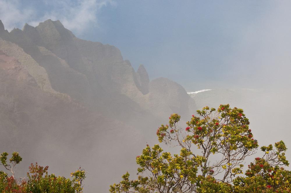 Lehua and Clouds at Kalalau