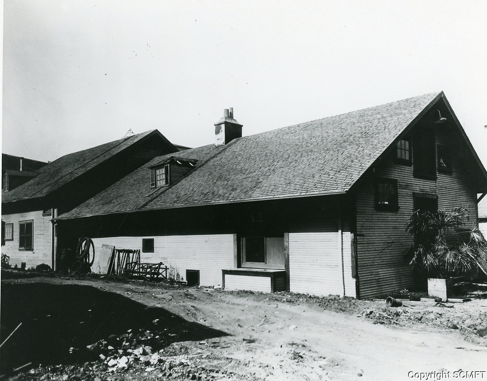 1918 DeMille/Lasky Barn at Famous Players Lasky Studios