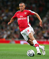 Fotball<br /> England<br /> Foto: Fotosports/Digitalsport<br /> NORWAY ONLY<br /> <br /> Arsenal FC vs West Bromwich Albion FC Carling Cup 3rd Rd 22/09/09<br /> <br /> Arsenal defender Kieran Gibbs in action.