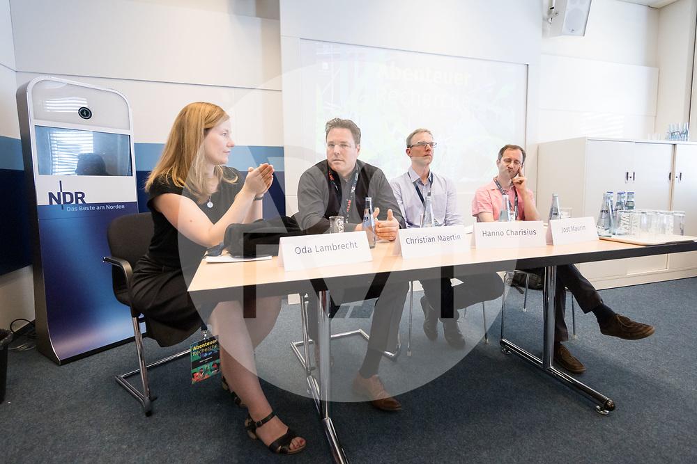 DEUTSCHLAND - HAMBURG - Veranstaltung 'Glyphosat: Kommunikationsschlacht um umstrittenes Pestizid' an der netzwerk recherche e.V. Jahreskonferenz 2019 - 14. Juni 2019 © Raphael Hünerfauth - http://huenerfauth.ch