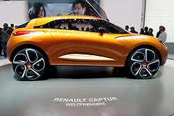Renault Captur concept car at the Geneva Motor Show 2011 Switzerland
