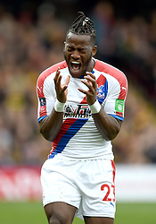 Crystal Palace's Michy Batshuayi celebrates his sides first goal