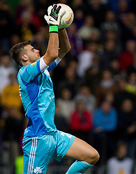 Orestis Karnezis of Panathinaikos during football match between NK Maribor and Panathinaikos Athens F.C. (GRE) in 1st Round of Group Stage of UEFA Europa league 2013, on September 20, 2012 in Stadium Ljudski vrt, Maribor, Slovenia. (Photo By Vid Ponikvar / Sportida)
