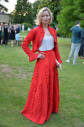 Sienna Guillory at the Dulwich Picture Gallery's inaugural Summer Party, Dulwich Picture Gallery, College Road, London England. 13 June 2017.