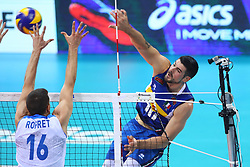 FILIPPO LANZA SPIKES<br /> ITALY VS SLOVENIA<br /> MEN'S VOLLEYBALL WORLD CHAMPIONSHIPS <br /> Florence September 18, 2018
