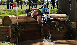 Call Me Maggie May ridden by Izzy Taylor on the Cross Country during day four of the 2019 Mitsubishi Motors Badminton Horse Trials at The Badminton Estate, Gloucestershire. PRESS ASSOCIATION Photo. Picture date: Saturday May 4, 2019. See PA story EQUESTRIAN Badminton. Photo credit should read: David Davies/PA Wire