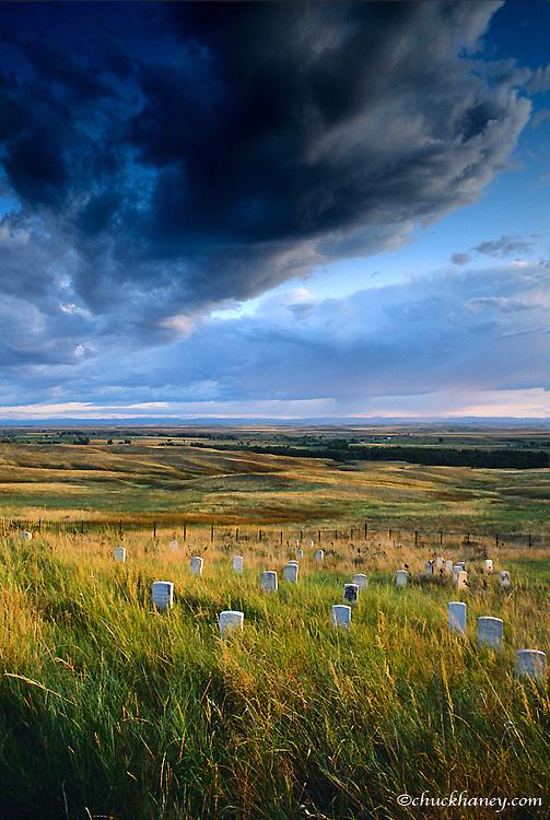 Little Bighorn National Battlefield in Montana