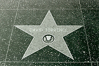 1960 David Torrence's star on the Hollywood Walk of Fame