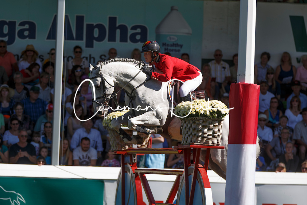 Philippaerts Olivier, (BEL), Cabrio vd Heffinck<br /> BMO Nations Cup<br /> Spruce Meadows Masters - Calgary 2015<br /> © Hippo Foto - Dirk Caremans<br /> 12/09/15
