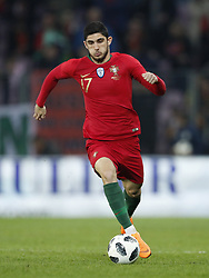 Goncali Guedes of Portugal during the International friendly match match between Portugal and The Netherlands at Stade de Genève on March 26, 2018 in Geneva, Switzerland