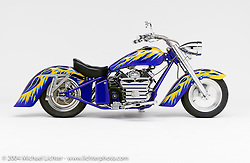 """Big-Ness/Little Ness by Arlen Ness. This bike appears in the book """"The King of Choppers,"""" by Michael Lichter and Arlen Ness."""
