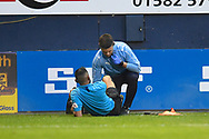 Assistant referee Abbas Khan is during the EFL Sky Bet League 1 match between Luton Town and AFC Wimbledon at Kenilworth Road, Luton, England on 23 April 2019.