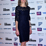 Olivia Hetreed attends The Writers' Guild Awards at Royal College of Physicians on 15th January 2018.