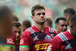 Jack Clifford of Harlequins looks dejected after the match - Mandatory byline: Patrick Khachfe/JMP - 07966 386802 - 02/09/2017 - RUGBY UNION - Twickenham Stadium - London, England - London Irish v Harlequins - Aviva Premiership