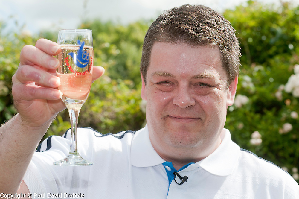 Shaun Vincent 42 of Barnsley who stepped forward to claim The National Lottery £1.158,038 which had been unclaimed since The Lotto Draw on the 11th June 2011.1st July 2011.Images © Paul David Drabble