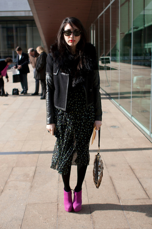 Style off the catwalks during day two at AW 2012 New York Fashion Week, NY, USA. February 10, 2012.