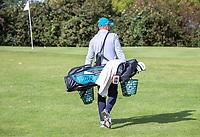 HALFWEG -   golfpro David Sijnke (foto)   op de Amsterdamse Golf Club.    COPYRIGHT KOEN SUYK