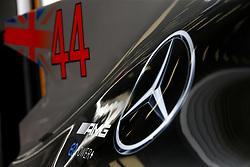 August 24, 2017 - Spa-Francorchamps, Belgium - Motorsports: FIA Formula One World Championship 2017, Grand Prix of Belgium, .technical detail, Mercedes AMG Petronas F1 Team  (Credit Image: © Hoch Zwei via ZUMA Wire)