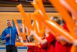 11-02-2017 NED: AA Drink NK Indoor, Apeldoorn<br /> AA drink talent - Wout Zijlstra