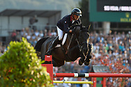 Nicolas DELMOTTE (FRA) riding Ilex VP during the Nations Cup of the World Equestrian Festival, CHIO of Aachen 2018, on July 13th to 22th, 2018 at Aachen - Aix la Chapelle, Germany - Photo Christophe Bricot / ProSportsImages / DPPI