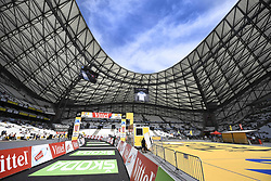 July 22, 2017 - Marseille, FRANCE - Illustration picture shows the Orange Velodrome at the arrival of the twentieth stage of the 104th edition of the Tour de France cycling race, an individual time trial in Marseille, France, Saturday 22 July 2017. This year's Tour de France takes place from July first to July 23rd. BELGA PHOTO YORICK JANSENS (Credit Image: © Yorick Jansens/Belga via ZUMA Press)